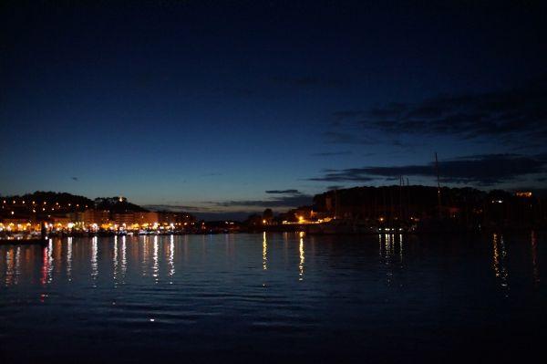 Abendstimmung Hafen Baiona
